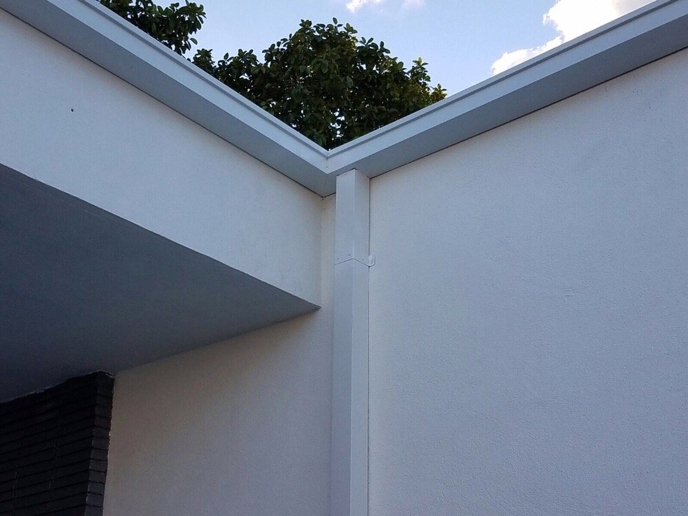 Square Modern Box Seamless Gutter And Down Spouts Yelp