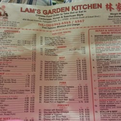 Lams Garden Kitchen CLOSED Chinese 464 Broad Ave Palisades