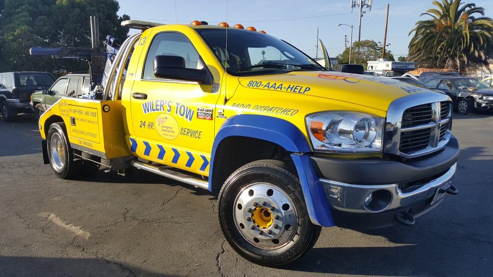 Wiler's Towing: 1340 Lemon St, Vallejo, CA