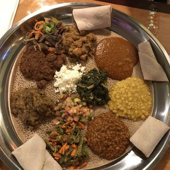 Zoma Ethiopian Restaurant Cleveland Menu