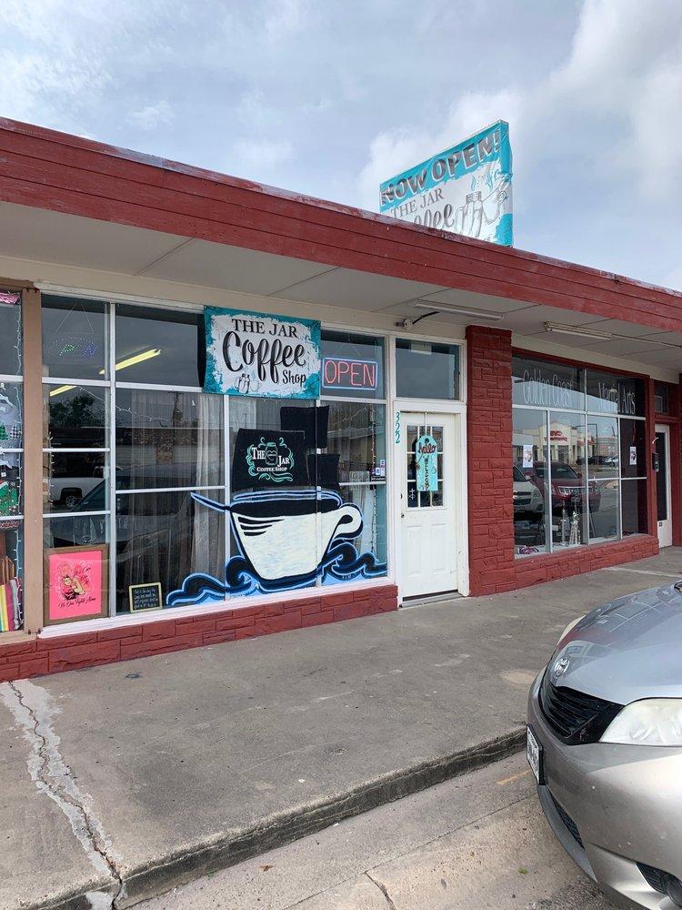 The Jar Coffee Shop: 322 1/2 E San Patricio Ave, Mathis, TX