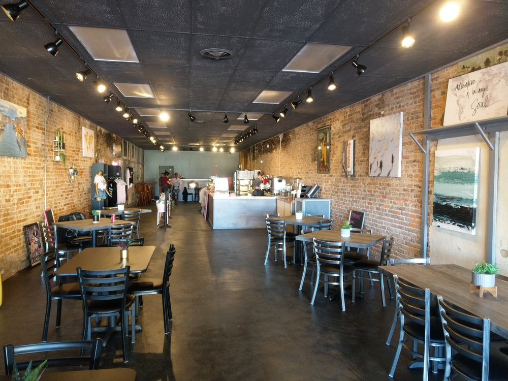Uncle Joe's Coffee & Tea House: 104 Davis St, Gilmer, TX