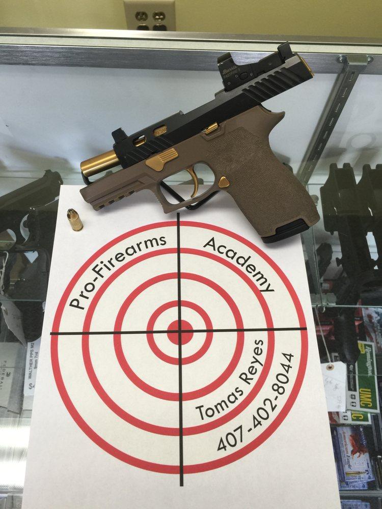 Pro-Firearms Academy: 2201 SW College Rd, Ocala, FL