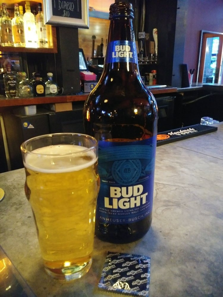 40oz Of Bud Light With A Condom 9 13 They Ran Out Of Brown Bags