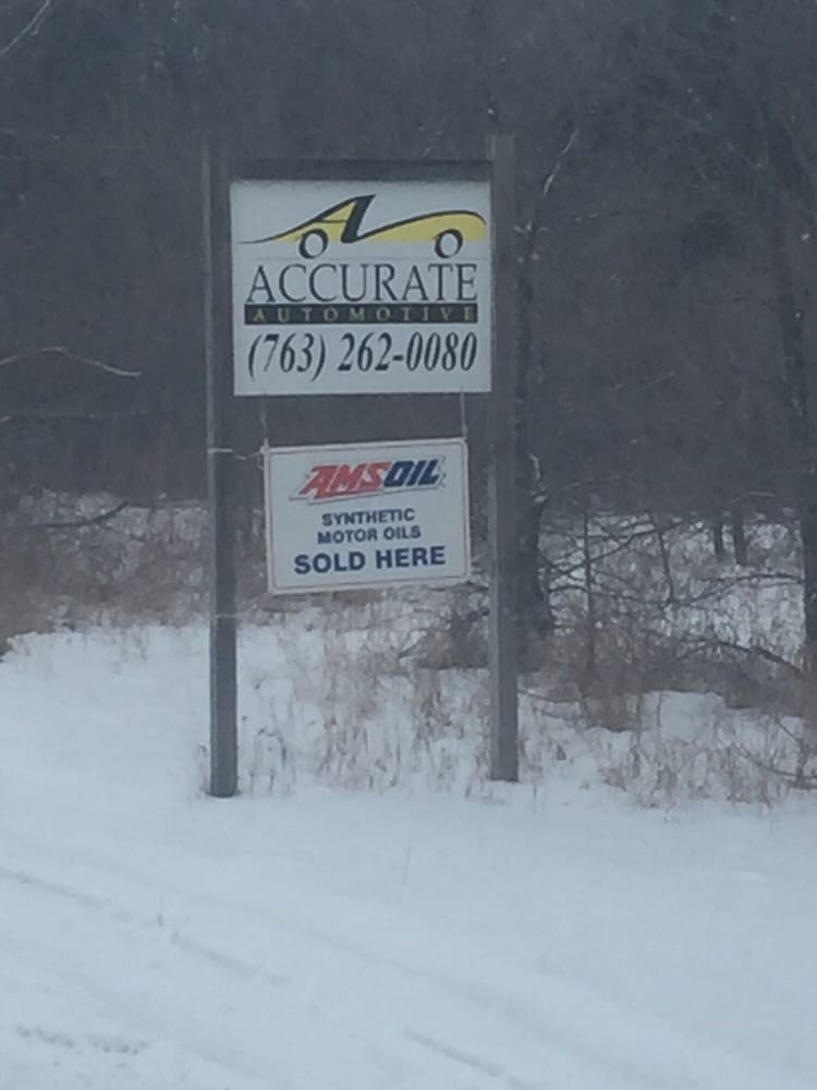Accurate Automotive Inc: 13575 96th St SE, Becker, MN
