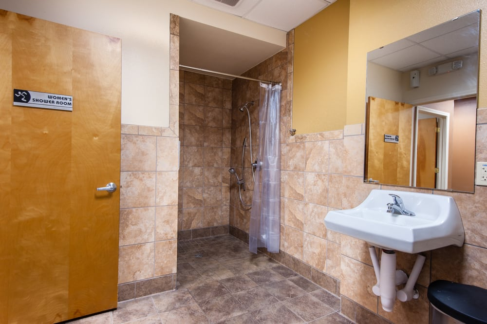 Deluxe private bathroom with shower yelp for Bathroom cleaning services near me