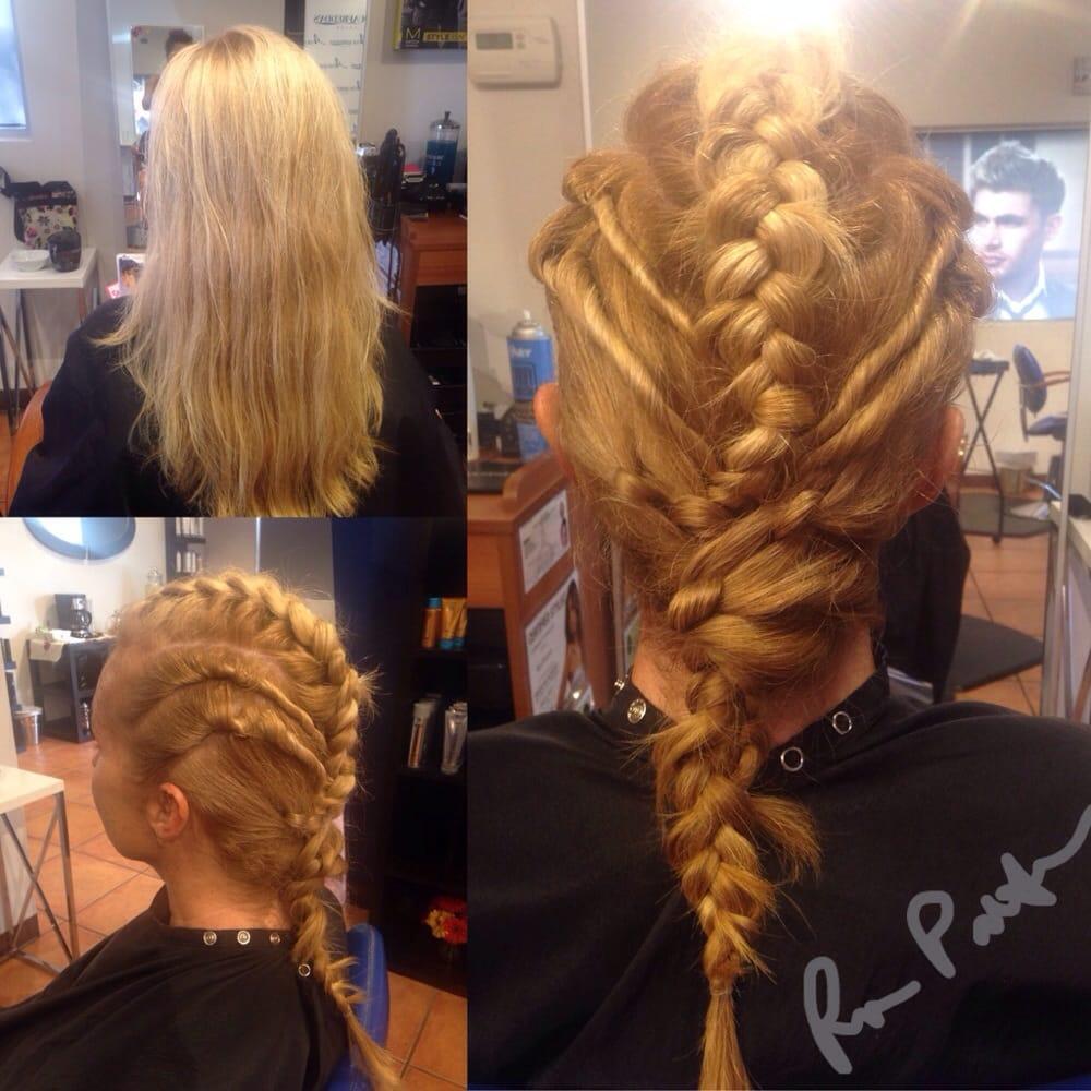 Braids by creative director rosa patterson yelp for Acquafredda salon