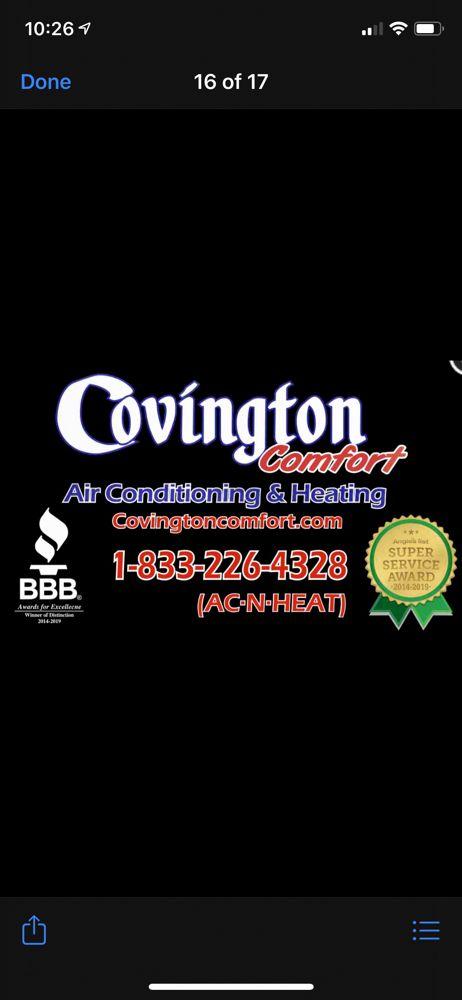 Covington Comfort: Angleton, TX