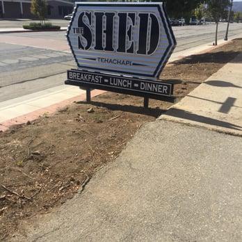 The Shed S Soul Kitchen Menu