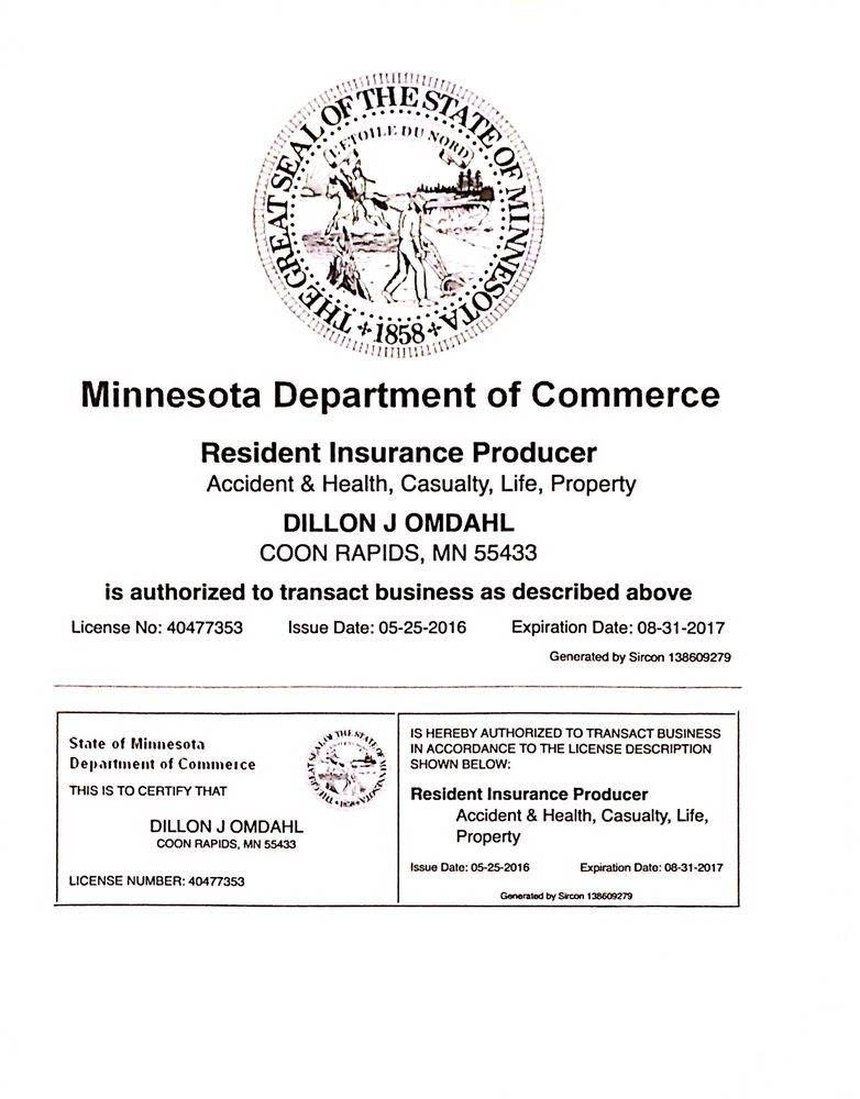 Dillon dahl - Cbined Insurance - Get Quote - Life Insurance ...