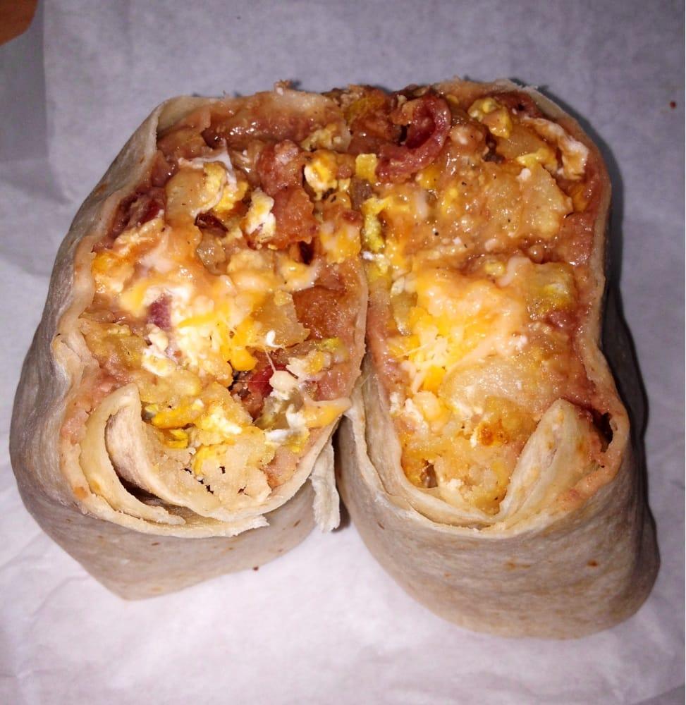 Breakfast Burrito Yum Yum Yelp