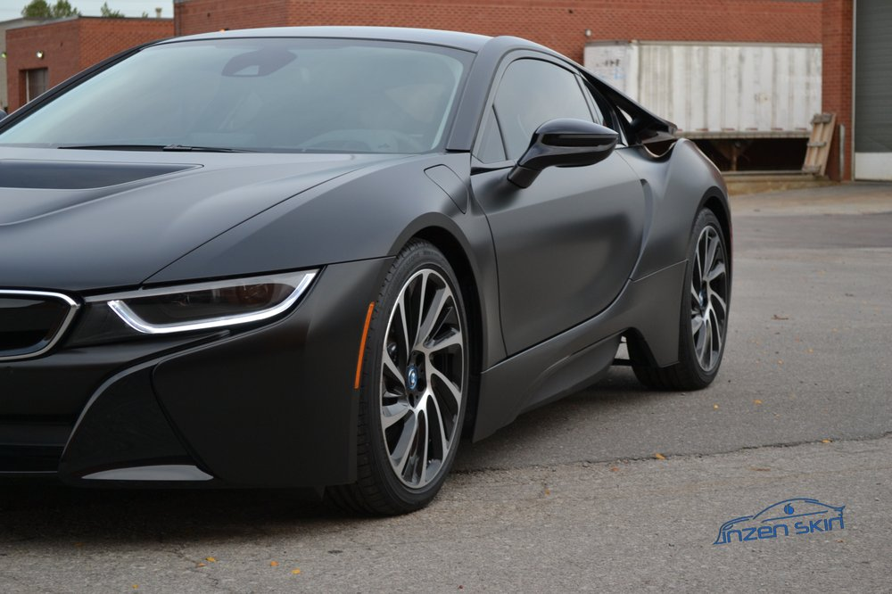 Bmw I8 Satin Black Wrap Yelp