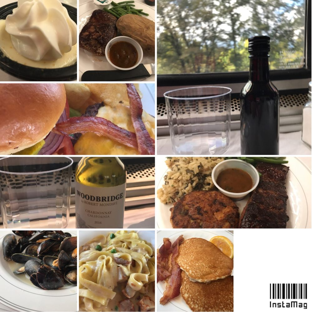 Food And Drinks I Had At The Dining Car