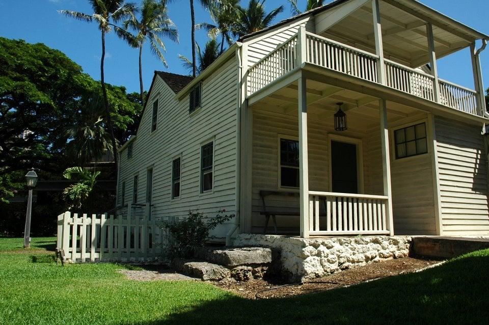 Photo Of Hawaiian Mission Houses Honolulu Hi United States Frame House