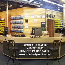 Admiralty marine boat repair 1053 rosecrans st point for Outboard motor repair san diego