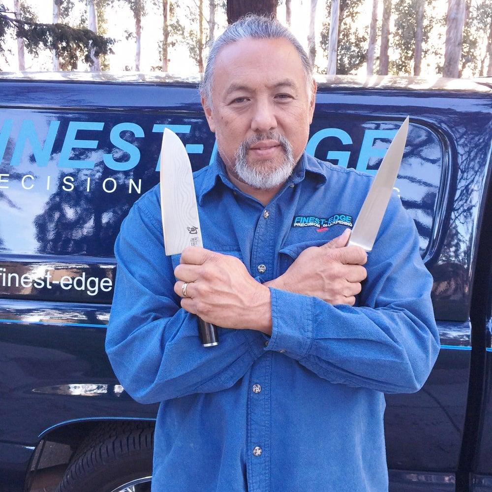 Finest-Edge Precision Sharpening Service: San Mateo, CA