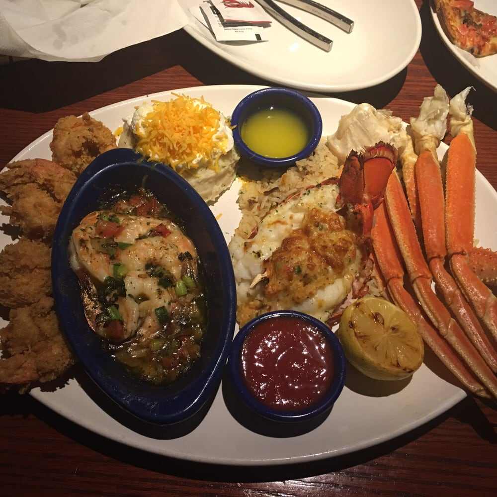 Menu For Olive Garden: Red Lobster's New Grand Seafood Feast