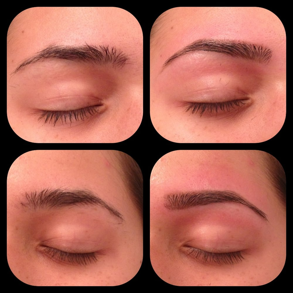 Before And After Brow Waxing Yelp