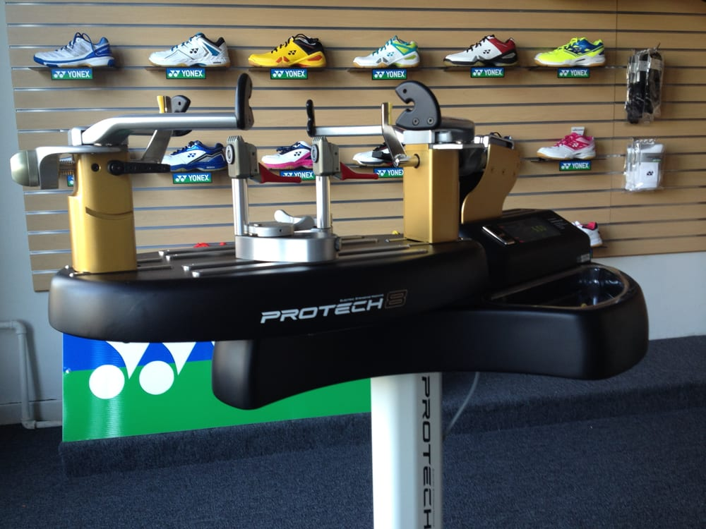 2d8ca5fd9288 Only shop in the USA with the Yonex Protech 8 machine for badminton ...