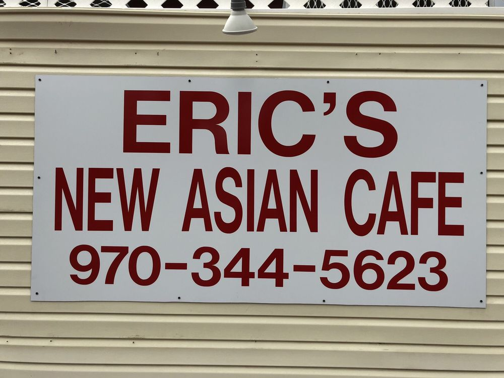 Eric's New Asian Café: 506 Welch Ave, Berthoud, CO