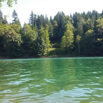 Riffe lake camping