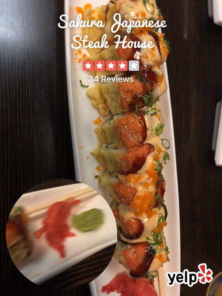 Sakura Japanese Steak House: 151 County Rd 6 W, Elkhart, IN