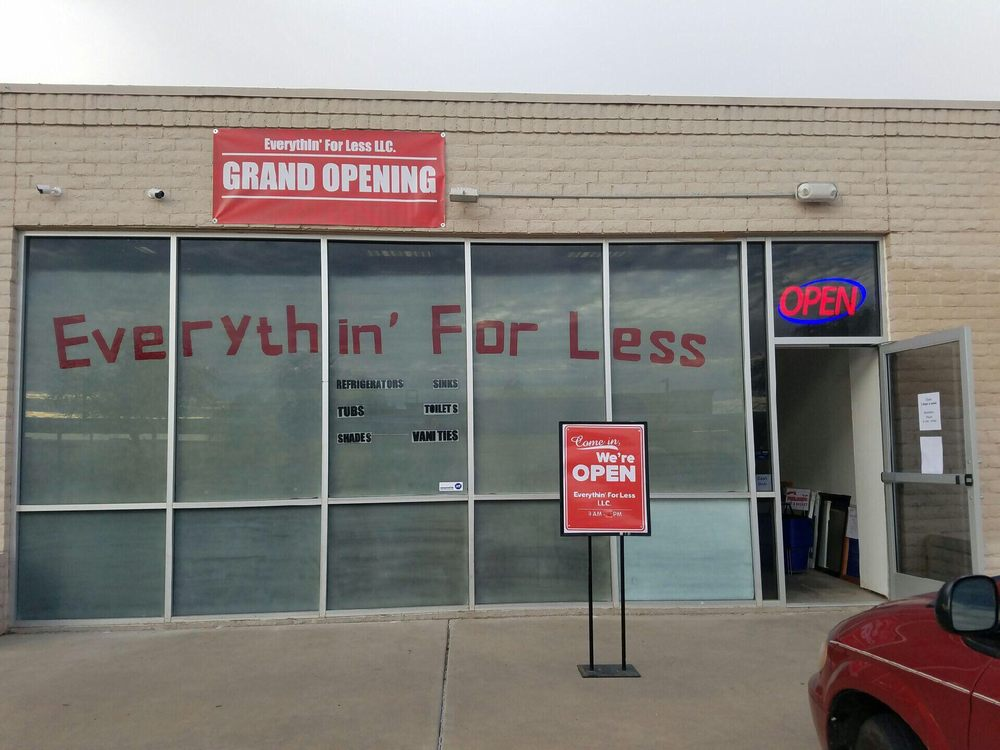 Everythin' For less - Kitchen & Bath - 5201 W Peoria Ave, Glendale, AZ - Yelp