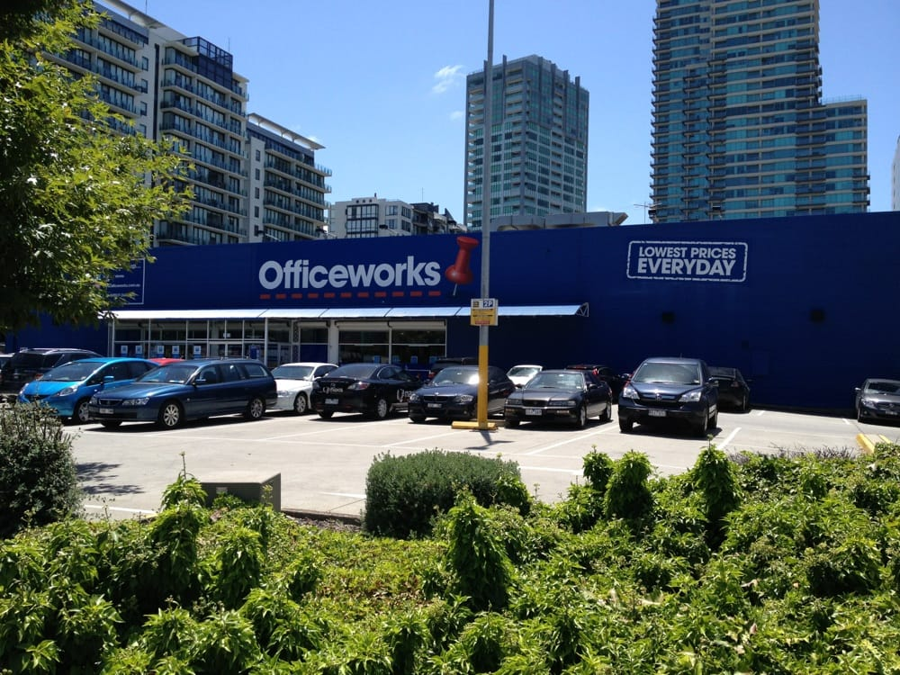 Officeworks  Office Equipment  231 Kings Way South Melbourne