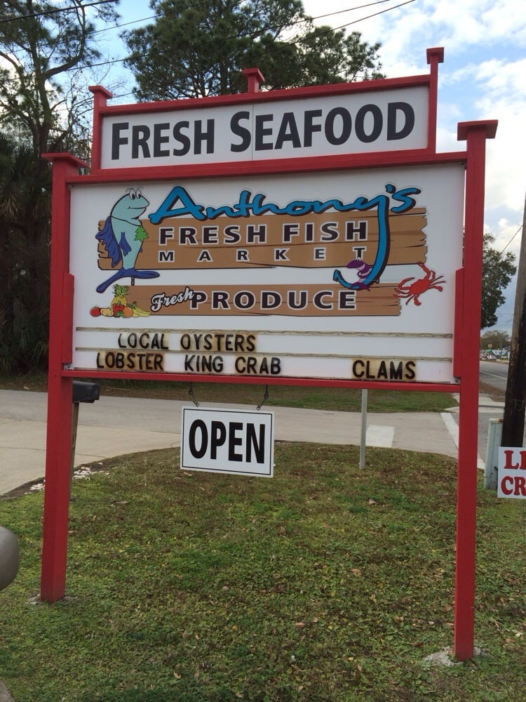 Anthony's Fresh Fish: 401 S State St, Bunnell, FL