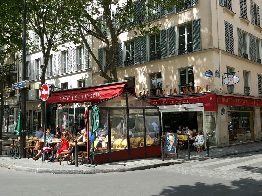 Caf Ef Bf Bd De La Place Place Saint Sulpice