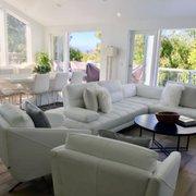 Leather Sectional Photo Of Modern Studio Furnishings Laguna Beach Ca United States