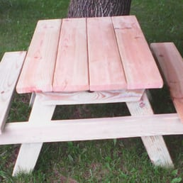 Photo Of On The Hill   Kenosha, WI, United States. Kids Picnic Table