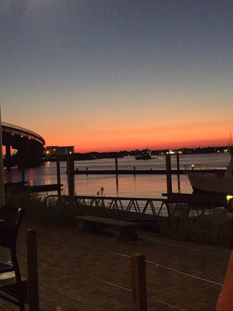 Photo Of Cobalt The Restaurant   Orange Beach, AL, United States. Sunset  Patio