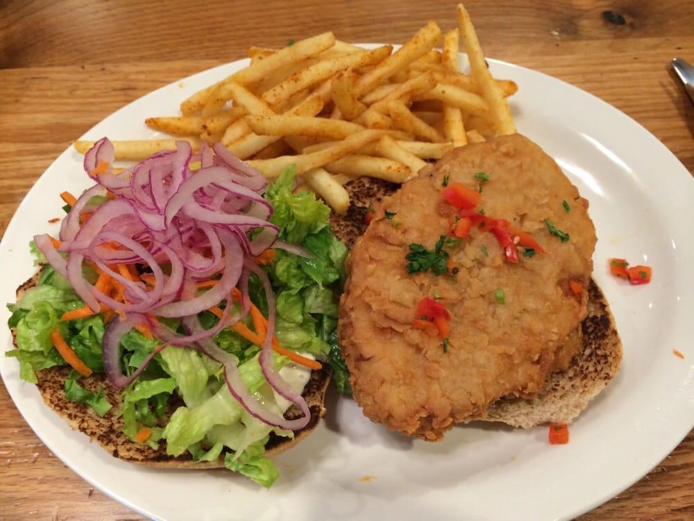 Chicken Run Ranch Burger Yelp
