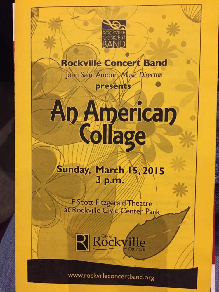 F. Scott Fitzgerald Theatre: 603 Edmonston Dr, Rockville, MD