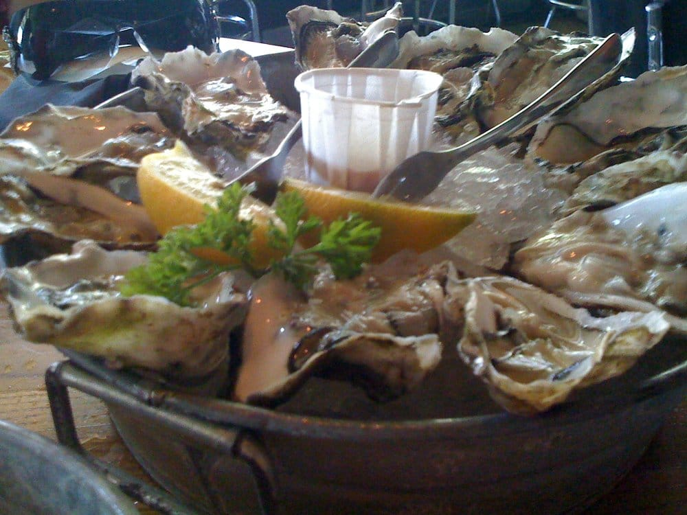 Oyster plate yelp for Stellas fish cafe
