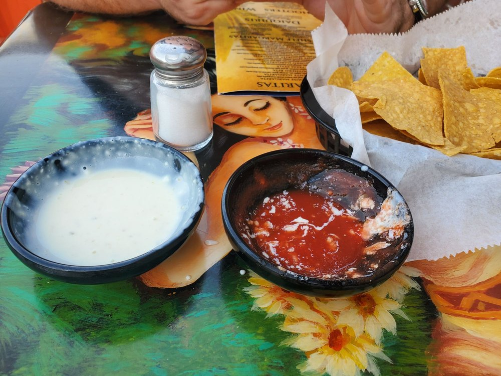 Food from El Tequila Mexican Restaurant