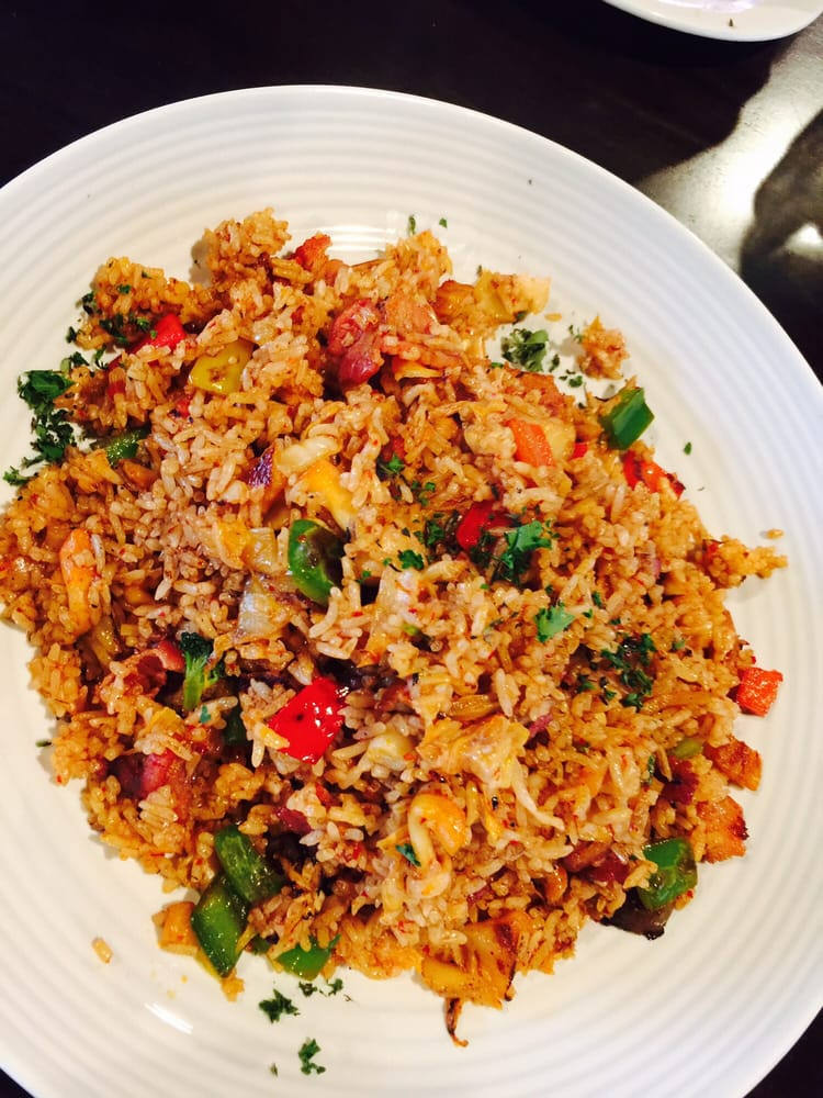 Bacon and kimchi fried rice - Yelp
