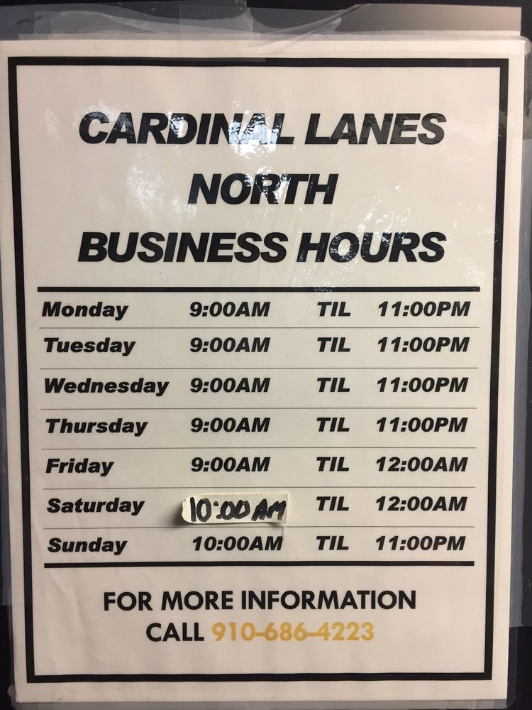Cardinal Lanes Beach Bowl: 7026 Market St, Wilmington, NC