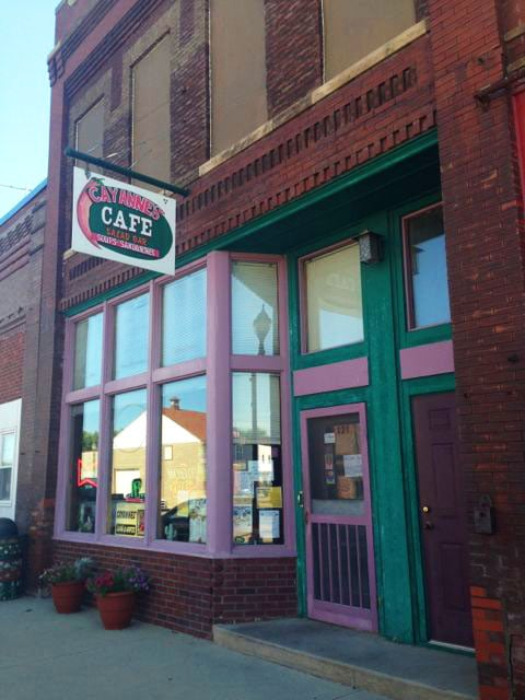 Cayannes' Cafe & Gifts: 121 S Main St, Woodward, IA