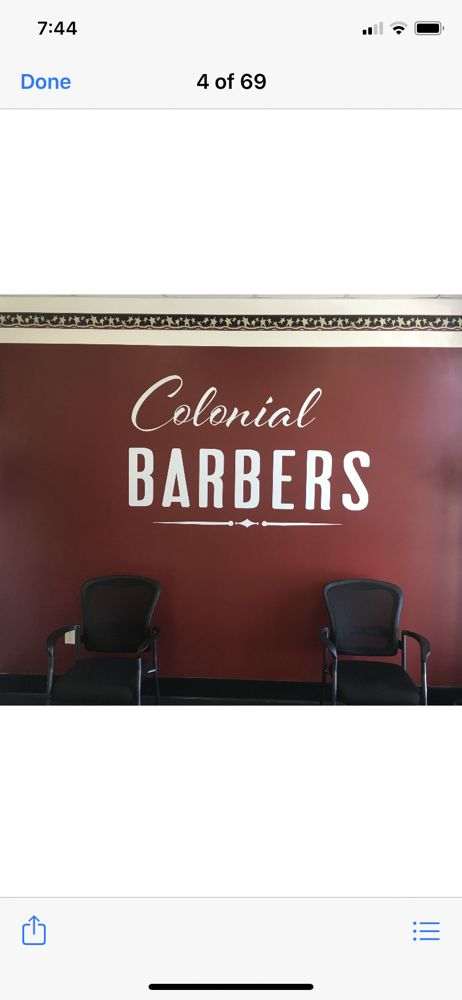 Colonial Barbers: 211 N Main St, Andover, MA
