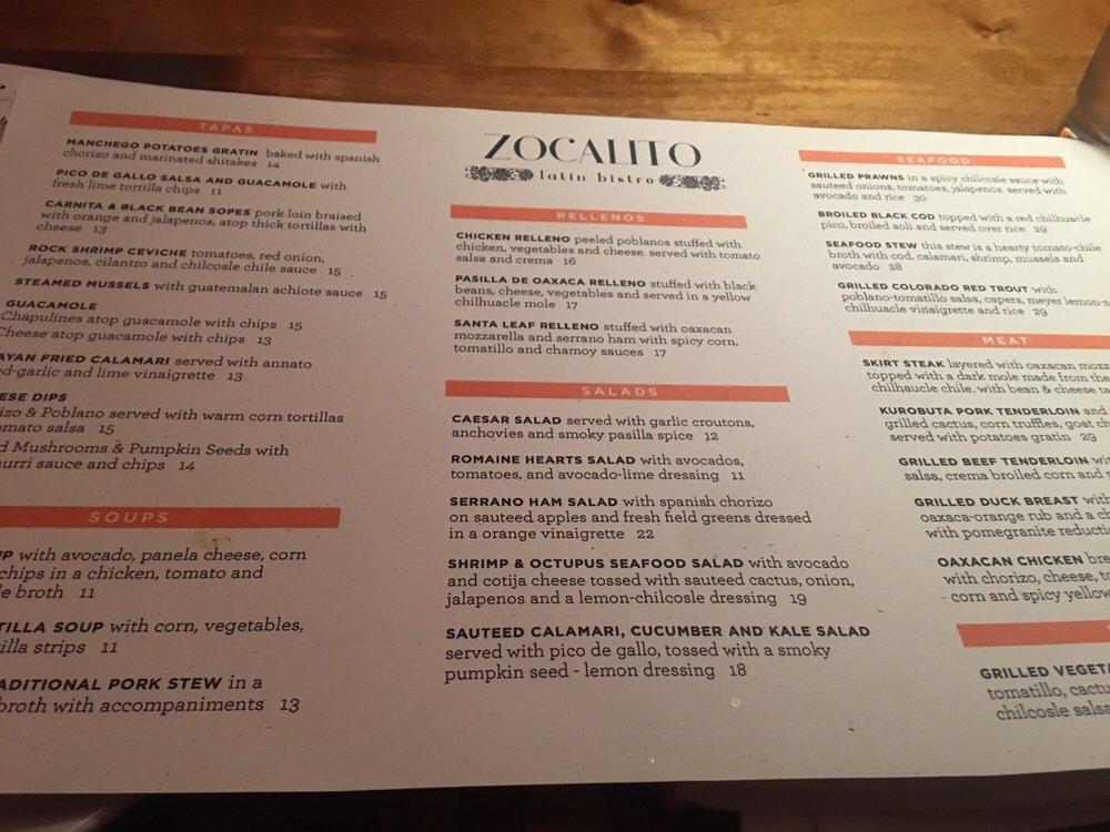 9b5ceb8c220 Zocalito Latin Bistro - 31 Photos   73 Reviews - Latin American - 420 E  Hyman Ave