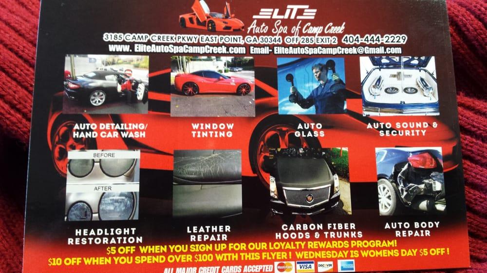 Elite Auto Spa Atlanta Reviews