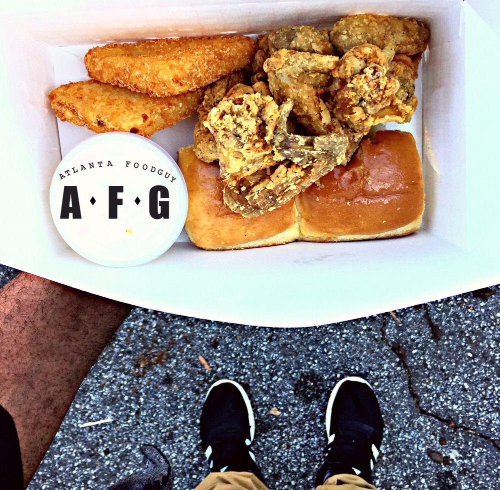 Wishbone Fried Chicken: 32 Jefferson St, Newnan, GA