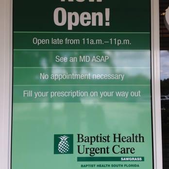 Baptist Urgent Care Sunrise