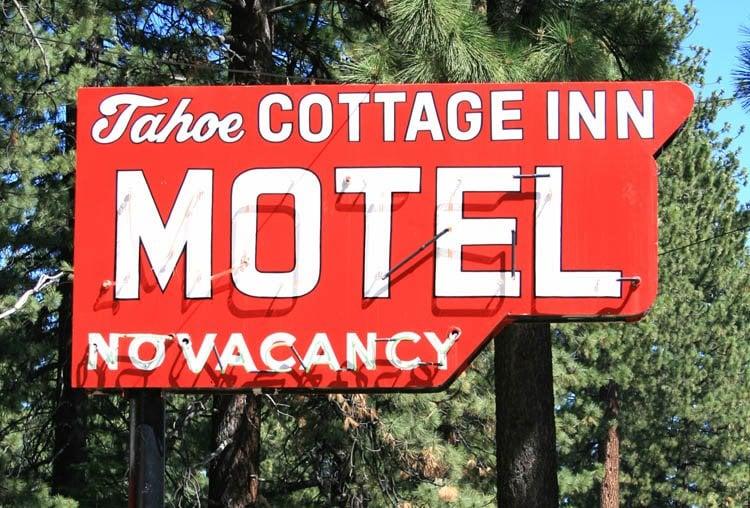 Signs of Tahoe