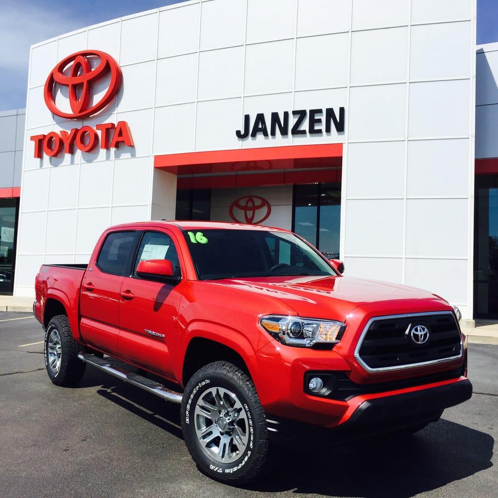 Photo Of Janzen Toyota Scion Stillwater Ok United States 2016 Tacoma