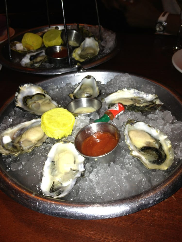 Can 39 t wait for these damn oysters hell yeah yelp for Rock n fish restaurant