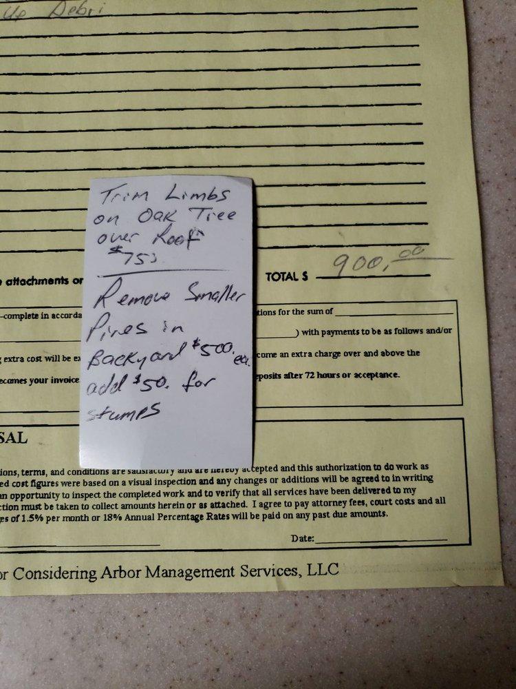 Arbor Management Services: 7029 Hwy 1, Shreveport, LA