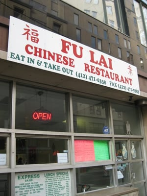 Fu Lai Chinese Restaurant Pittsburgh Pa